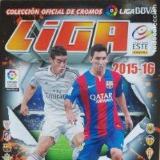 Coleccionismo deportivo: EDICIONES ESTE 2015-16 CONTIENE 402 CROMOS. Lote 191811013