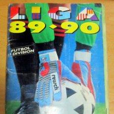 Coleccionismo deportivo: ALBUM LIGA 89-90 EDICIONES ESTE CON 391 CROMOS. Lote 192110771