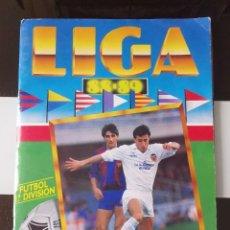 Coleccionismo deportivo: ÁLBUM CROMOS LIGA FUTBOL ESTE 1988-1989 88-89 CASI COMPLETO. Lote 192258057