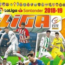 Coleccionismo deportivo: OCASION ALBUM DE LA LIGA 2018/19 CON 390 CROMOS PERFECTO ESTADO. Lote 192266381