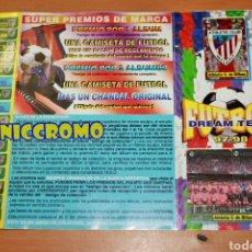 Coleccionismo deportivo: ÁLBUM ATHLETIC DE BILBAO CHICLE FÚTBOL DREAM TEAM 97 98 LIGA 1997 1998. Lote 192372482