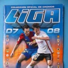 Coleccionismo deportivo: ALBUM CROMOS - LIGA 2007-2008 07-08 - ED. ESTE - VER DESCRIPCION Y FOTOS. Lote 192576082
