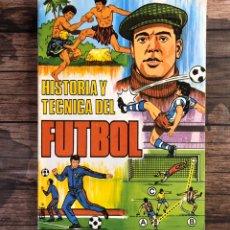 Coleccionismo deportivo: HISTORIA Y TÉCNICA DEL FÚTBOL.. Lote 193111243
