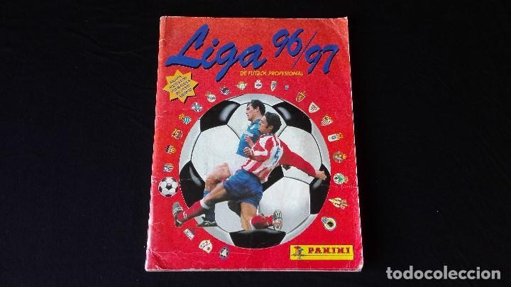 ALBUM CROMOS LIGA 96/97 (Coleccionismo Deportivo - Álbumes y Cromos de Deportes - Álbumes de Fútbol Incompletos)