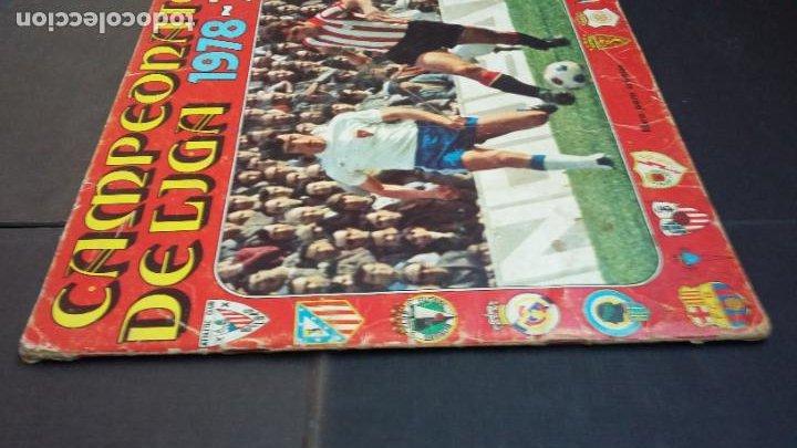 Coleccionismo deportivo: ALBUM CAMPEONATO LIGA 1978 1979 78 79 - DISGRA FHER - CONTIENE 2 CROMOS. - Foto 2 - 194204918
