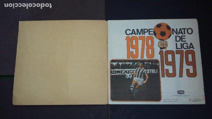 Coleccionismo deportivo: ALBUM CAMPEONATO LIGA 1978 1979 78 79 - DISGRA FHER - CONTIENE 2 CROMOS. - Foto 4 - 194204918