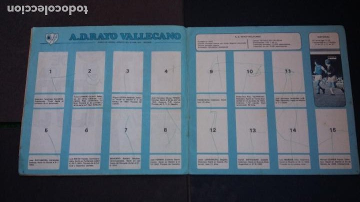 Coleccionismo deportivo: ALBUM CAMPEONATO LIGA 1978 1979 78 79 - DISGRA FHER - CONTIENE 2 CROMOS. - Foto 5 - 194204918