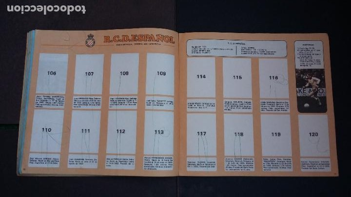 Coleccionismo deportivo: ALBUM CAMPEONATO LIGA 1978 1979 78 79 - DISGRA FHER - CONTIENE 2 CROMOS. - Foto 12 - 194204918