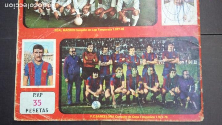 Coleccionismo deportivo: ALBUM CAMPEONATO LIGA 1978 1979 78 79 - DISGRA FHER - CONTIENE 2 CROMOS. - Foto 27 - 194204918