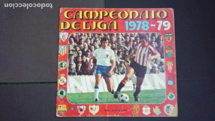 ALBUM CAMPEONATO LIGA 1978 1979 78 79 - DISGRA FHER - CONTIENE 2 CROMOS. (Coleccionismo Deportivo - Álbumes y Cromos de Deportes - Álbumes de Fútbol Incompletos)