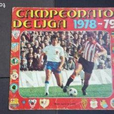 Coleccionismo deportivo: ALBUM CAMPEONATO LIGA 1978 1979 78 79 - DISGRA FHER - CONTIENE 2 CROMOS.. Lote 194204918