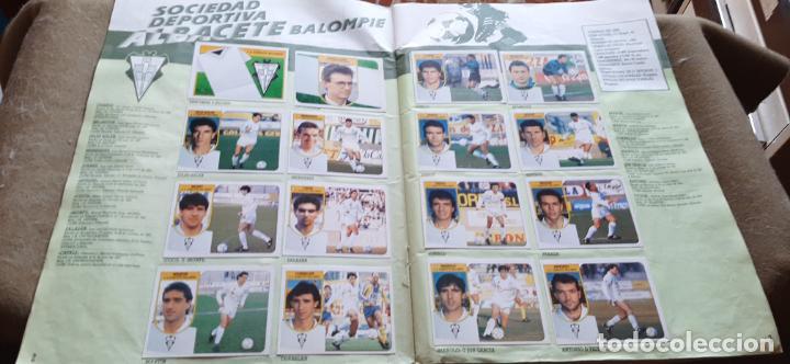 Coleccionismo deportivo: ALBUM LIGA ESTE 1991/92 - INCOMPLETO - COMO SE VE EN LAS FOTOS - VER TODAS LAS FOTOS - Foto 2 - 194212136