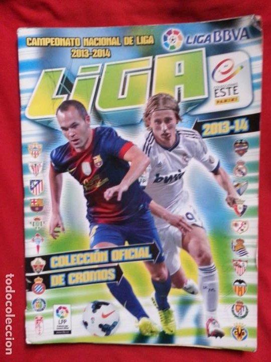LIGA ESTE 2013-2014 - 42 CROMOS (Coleccionismo Deportivo - Álbumes y Cromos de Deportes - Álbumes de Fútbol Incompletos)