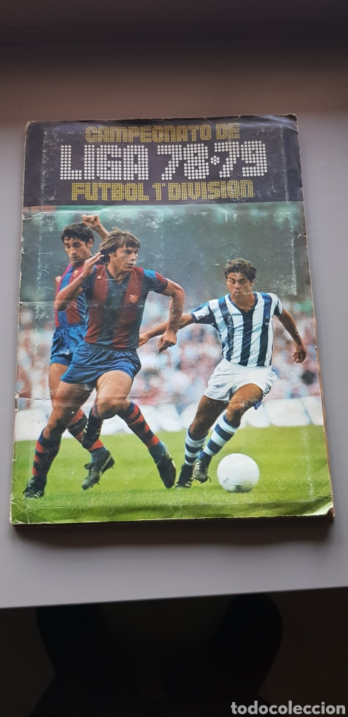 ALBUM LIGA ESTE 78 79 1978 1979 CON BASTANTES CROMOS (Coleccionismo Deportivo - Álbumes y Cromos de Deportes - Álbumes de Fútbol Incompletos)