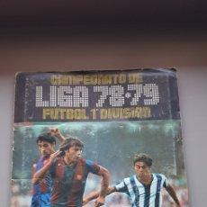 Coleccionismo deportivo: ALBUM LIGA ESTE 78 79 1978 1979 CON BASTANTES CROMOS. Lote 194228430