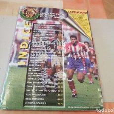 Coleccionismo deportivo: ANTIGUO ALBUM DE FUTBOL LIGA 96 97 1996 1997 EDICIONES ESTE INCOMPLETO VER FOTOS. Lote 194242118