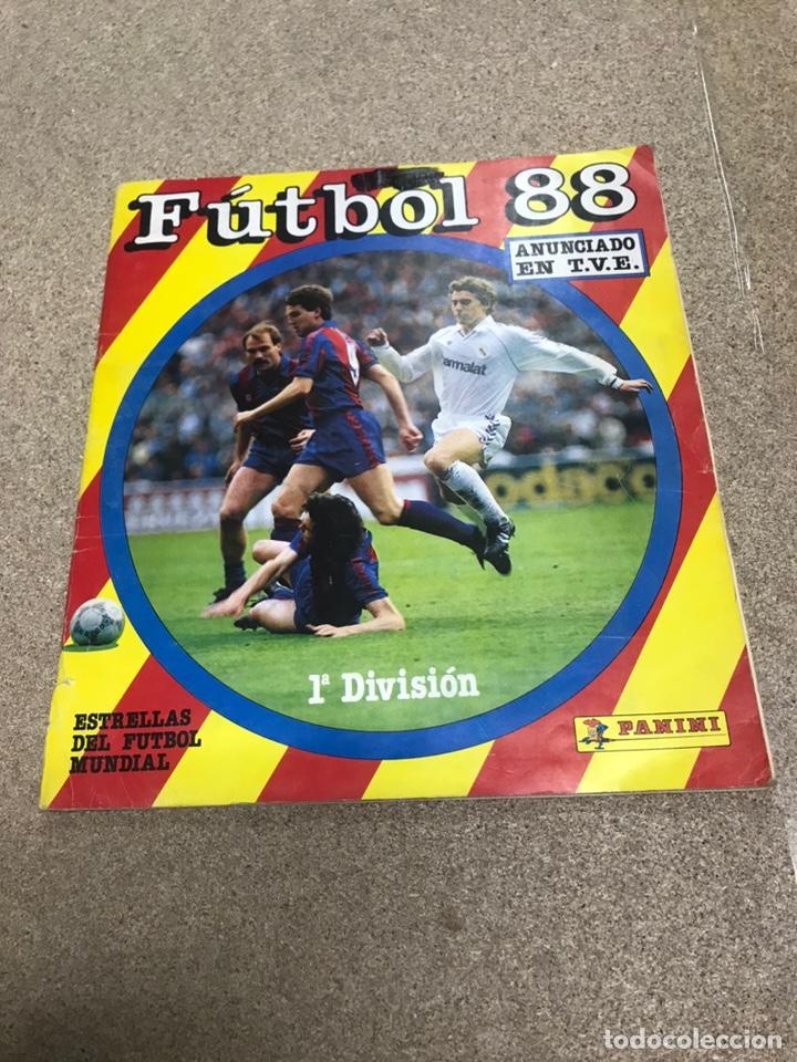 ÁLBUM DE CROMOS DE FUBTOL PRIMERA DIVISIÓN 1988 INCOMPLETO (Coleccionismo Deportivo - Álbumes y Cromos de Deportes - Álbumes de Fútbol Incompletos)