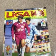 Coleccionismo deportivo: ÁLBUM DE CROMOS DE FÚTBOL LIGA 94/95 INCOMPLETO. Lote 194306470