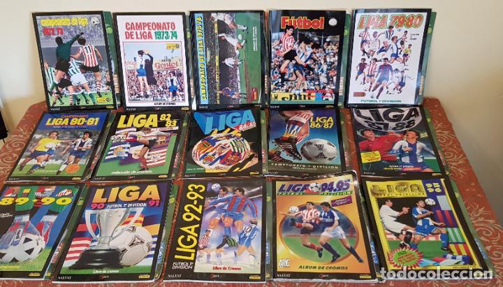 CROMOS INOLVIDABLES LOTE 15 ALBUM FACSIMIL ESTE FUTBOL + FASCICULO PANINI SALVAT.VER (Coleccionismo Deportivo - Álbumes y Cromos de Deportes - Álbumes de Fútbol Incompletos)
