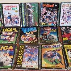 Coleccionismo deportivo: CROMOS INOLVIDABLES LOTE 15 ALBUM FACSIMIL ESTE FUTBOL + FASCICULO PANINI SALVAT.VER. Lote 194309915