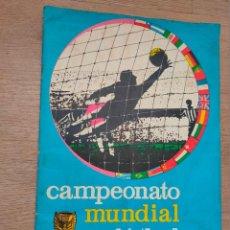 Coleccionismo deportivo: CAMPEONATO MUNDIAL DE FUTBOL 1966. DISGRA. CON 227 CROMOS. FOTOS DE TODO EL ALBUM. Lote 194319078