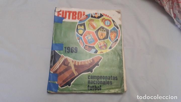 ALBUM DE LA LIGA 1968-69 DE RUIZ ROMERO SOLO FALTAN 3 CROMOS (Coleccionismo Deportivo - Álbumes y Cromos de Deportes - Álbumes de Fútbol Incompletos)