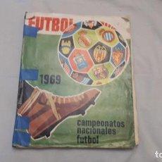 Coleccionismo deportivo: ALBUM DE LA LIGA 1968-69 DE RUIZ ROMERO SOLO FALTAN 3 CROMOS . Lote 194321210