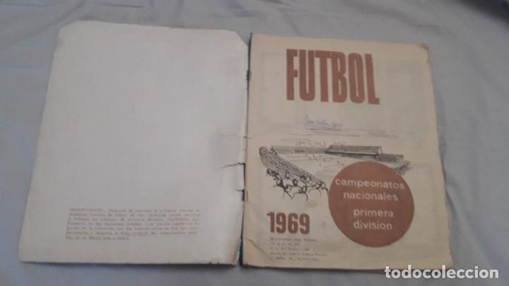 Coleccionismo deportivo: ALBUM DE LA LIGA 1968-69 DE RUIZ ROMERO SOLO FALTAN 3 CROMOS - Foto 2 - 194321210