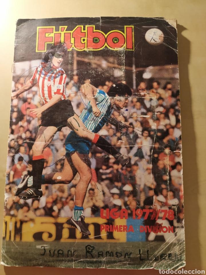 ÁLBUM LIGA ESTE 77 78 - 208 CROMOS. (Coleccionismo Deportivo - Álbumes y Cromos de Deportes - Álbumes de Fútbol Incompletos)