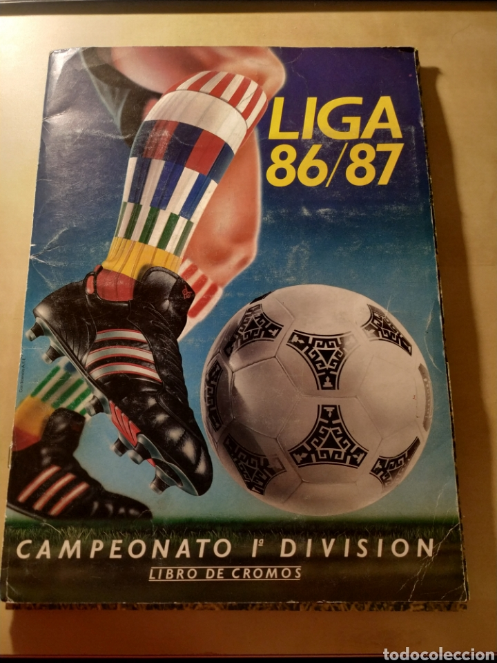 ÁLBUM LIGA ESTE 86 87 (Coleccionismo Deportivo - Álbumes y Cromos de Deportes - Álbumes de Fútbol Incompletos)