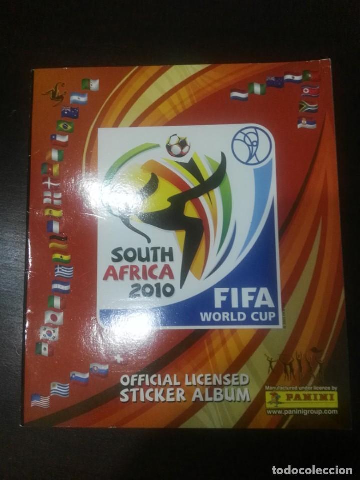 ALBUM CROMOS VACÍO NUEVO PLANCHA MUNDIAL SUDÁFRICA 2010 (Coleccionismo Deportivo - Álbumes y Cromos de Deportes - Álbumes de Fútbol Incompletos)