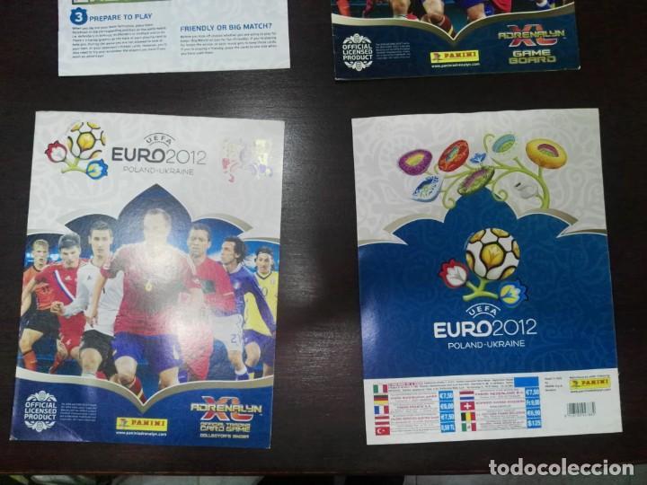 PORTADAS ORIGINALES NUEVAS ADRENALYN EURO 2012 (Coleccionismo Deportivo - Álbumes y Cromos de Deportes - Álbumes de Fútbol Incompletos)