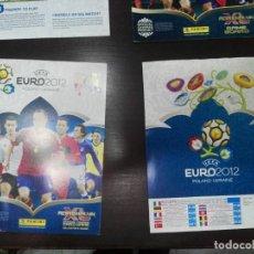 Coleccionismo deportivo: PORTADAS ORIGINALES NUEVAS ADRENALYN EURO 2012. Lote 194514552