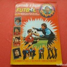 Coleccionismo deportivo: GEPRODESA 1984 --APRENDE A JUGAR AL FUTBOL CON JOHAN CRUYFF. Lote 194528518