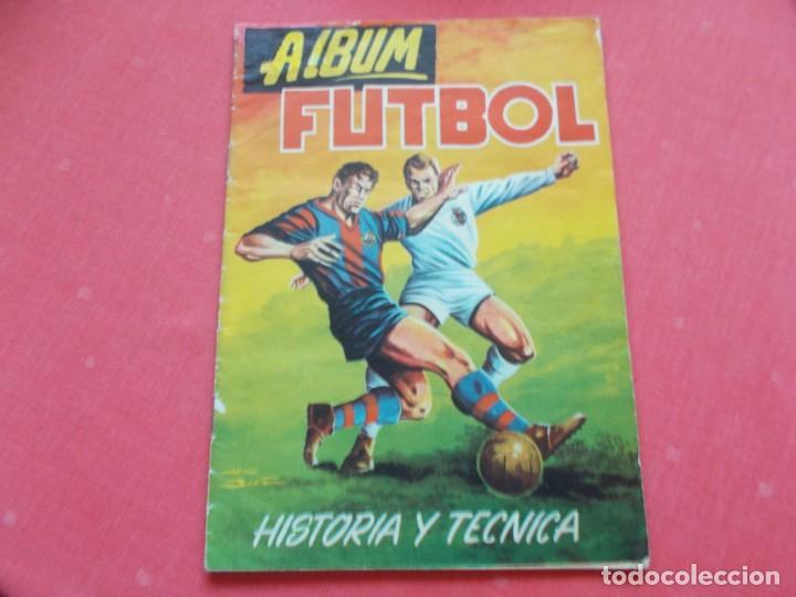 EDIGESA 1959 HISTORIA Y TECNICA DEL FUTBOL (Coleccionismo Deportivo - Álbumes y Cromos de Deportes - Álbumes de Fútbol Incompletos)