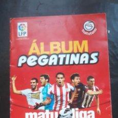 Coleccionismo deportivo: ALBUM PEGATINAS MATU LIGA 2013 MATUTANO SOLO LE FALTA 1 CROMO EL 41. Lote 194529218