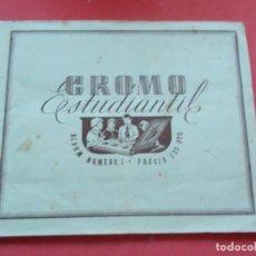 Coleccionismo deportivo: ED.ESPAÑA -- CROMO ESTUDIANTIL ALBUM Nº1 AÑO 1942. Lote 194530025
