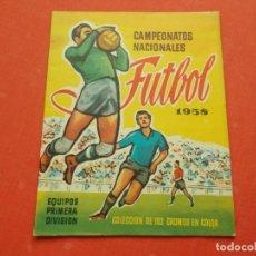Coleccionismo deportivo: RUIZ ROMERO CAMPEONATOS NACIONALES FUTBOL 1958 ALBUM VACIO PLANCHA. Lote 194531071