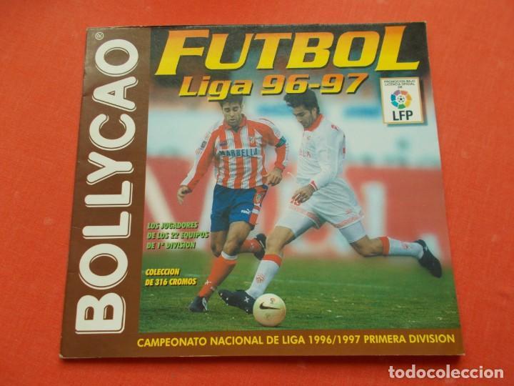 BOLLYCAO FUTBOL LIGA 96-97 VACIO PLANCHA (Coleccionismo Deportivo - Álbumes y Cromos de Deportes - Álbumes de Fútbol Incompletos)