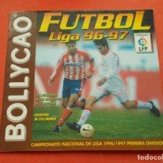Coleccionismo deportivo: BOLLYCAO FUTBOL LIGA 96-97 VACIO PLANCHA. Lote 194531373