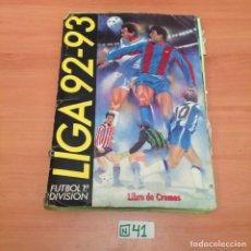 Coleccionismo deportivo: LIGA 92 93 ESTE PARA DESGUACE. Lote 194642026
