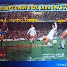 Coleccionismo deportivo: (F-200279)ALBUM CROMOS DE FUTBOL CAMPEONATO DE LIGA 1975/76 - EDITORIAL ESTE - COLOCAS Y FICHAJES. Lote 194688355