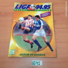 Coleccionismo deportivo: ÁLBUM DE CROMOS INCOMPLETO LIGA 94 ,95. Lote 194860852