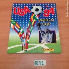 Coleccionismo deportivo: ÁLBUM DE CROMOS INCOMPLETO USA 94. Lote 194861281