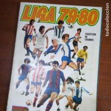 Coleccionismo deportivo: ALBUM ED ESTE 79 80 CROMO FUTBOL LIGA 1979 1980 TEMPORADA - VACIO CROMOS DESPEGADOS. Lote 194861756
