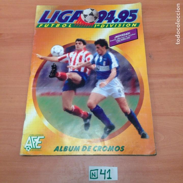 ÁLBUM DE CROMOS INCOMPLETO LIGA 94,95 (Coleccionismo Deportivo - Álbumes y Cromos de Deportes - Álbumes de Fútbol Incompletos)