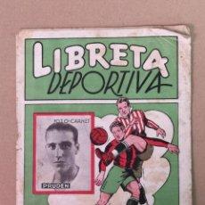 Coleccionismo deportivo: LIBRETA DEPORTIVA EDT. CISNE. Lote 194885987