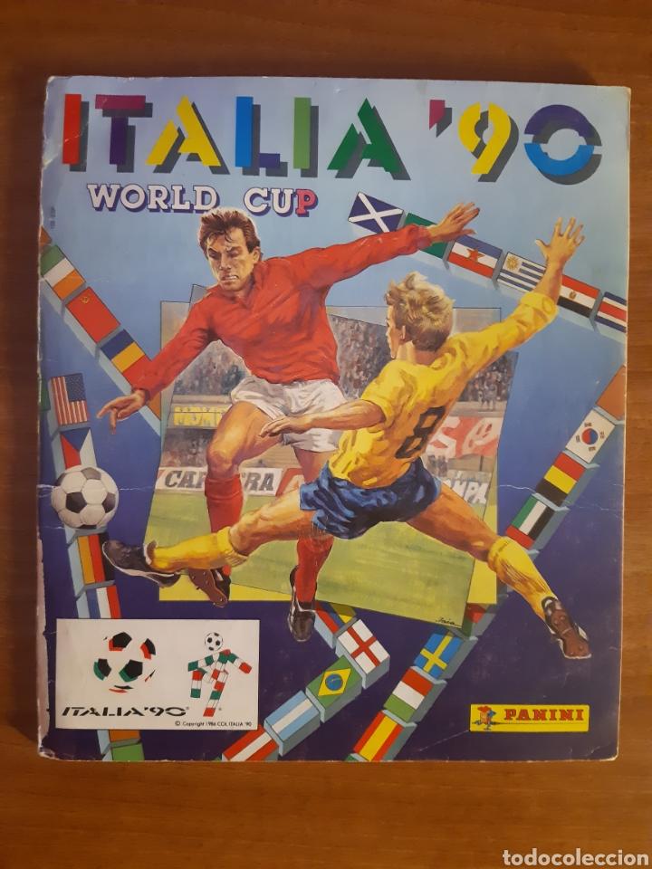 ALBUM ITALIA 90 ED.PANINI A FALTA DE 40 CROMOS (Coleccionismo Deportivo - Álbumes y Cromos de Deportes - Álbumes de Fútbol Incompletos)