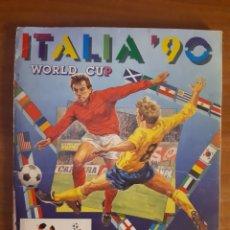 Coleccionismo deportivo: ALBUM ITALIA 90 ED.PANINI A FALTA DE 40 CROMOS. Lote 194900828