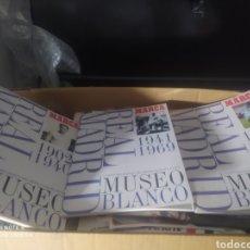 Coleccionismo deportivo: LOTE 3 ÁLBUM PLANCHA FUTBOL REAL MADRID MUSEO BLANCO BUEN ESTADO. Lote 194937888